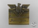 A 1934 Saar-Karlsruhe Rally Badge