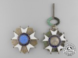 A Brazilian National Order of the Southern Cross; Grand Cross Set