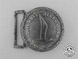 A Rare Dutch Youth Movement (Nationale Jugenstorm) Officer's Belt Buckle