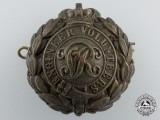 A Victorian Period Engineer Volunteers Cap Badge