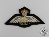 A Scarce Royal Canadian Air Cadets Pilot's Wing