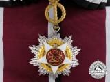 A Royal Order of Independence of Jordan; Grand Cross Sash Badge