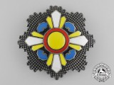A Japanese Occupied Manchuko Order of the Auspicious Clouds; Grand Cordon Breast Star
