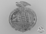 A 1935 Day of German Sea Voyages Badge by Ferdinand Wagner