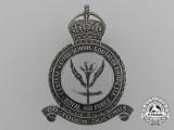 A Rhodesian Air Force Central Flying School Instructor's  Cap Badge