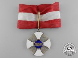 An Italian Order of the Crown; Commander's Cross