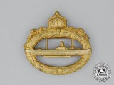 A First War German Imperial Submarine Badge