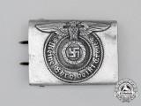 A Second War German Waffen-SS Enlisted Man's Belt Buckle by Assmann & Söhne