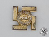 A 1937 NSDAP Breslau District Meeting Badge