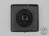 A Cased Third Reich Period German Condor Legion Black Grade Wound Badge