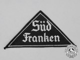 "A Mint and Unissued HJ ""Süd Franken"" District Sleeve Insignia"