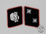 A Mint Matching Pair of Waffen SS Panzer Oberscharführer Rank Collar Tabs