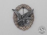 A Luftwaffe Radio Operator & Air Gunner Badge