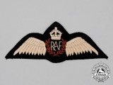 A Second War Royal Air Force (RAF) Indian Theatre Made Pilot Wing