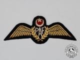 A Pakistan Air Force (PAK) Pilot's Wing