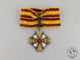 A Lithuanian Order of Gedimus; 3rd Class Commander (1930-1940) in Case