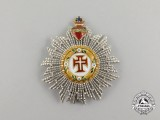 A Portuguese Military Order of Christ; Breast Star