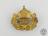 A Prussian 1909 Regiment Cap Badge