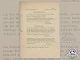 A 1940 Signed Wehrmacht Oath of Allegiance by Luftwaffe Signals Soldier