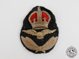 An Unusual Second War Commonwealth Officer's Cap Badge
