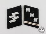 A Fine Set of Waffen-SS Obersturmführer Collar Tabs
