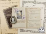 A Collection of Documents & Awards to Minesweeper Ernst Meier; KIA