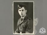 A Mint Third Reich Period Photo of an SS Artillery Soldier
