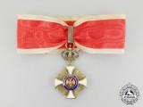A First War Period Serbian Order of Karageorge; 3rd Class Commander by Bertrand, Paris