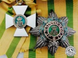 Luxembourg. An Order of the Oak Crown; Grand Cross Set