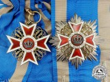 Romania (Kingdom). An Order of the Crown of Romania; Civil Division Grand Cross Set