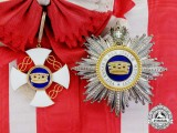 An Order of the Crown of Italy, Grand Cross to Vice Admiral Sir Lionel Halsey