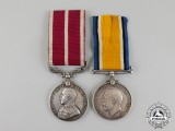 Great Britain. A First War Meritorious Service Medal Pair to the Royal Engineers