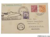 Condor Zeppelin Air Mail Postcard 1932