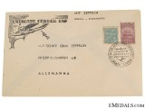 Condor Zeppelin Air Mail Brazzil Envelope 1930