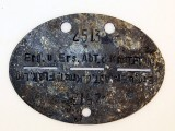 WWII Period ID (or Dog Tag),