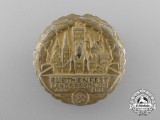 A 1938 Ruethenfest Celebration Badge