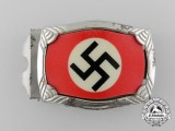 A NSDAP Jugend Belt Buckle; Published Example