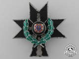 A Croatian Order of the Iron Trefoil 1941-1945; 2nd Class with Oak Leaves