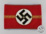 A NSDAP Ortsgruppe/Zellenleiter and Haubtbetriebsobermann Armband; RZM Tagged