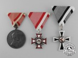 Three Austrian Medals & Orders
