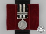 A Service Medal of the Order of St. John with Two Five Years' Service Bars
