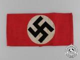 """An Early NSDAP Members Armband, """"BeVo Barmen Ges. Gesch."""""""