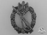 A Silver Grade Infantry Assault Badge by Josef Feix & Söhne
