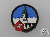 A Fine 1944 Austrian - Innsbruck Ski Championship of the Alpine-University Badge