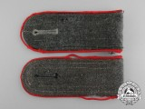 A Matching Pair of Wehrmacht Artillery Enlisted Man's Shoulder Boards
