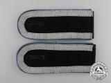 A Mint Matching Pair of Wehrmacht Transport Unit Unteroffizier's Shoulder Boards