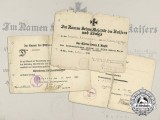 A Group of First War Award Documents to Infanterie-Regiment Graf Kirchbach