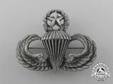 An American Master Parachutist Badge