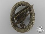 An Early Fallschirmjäger Badge by JMME & SOHN