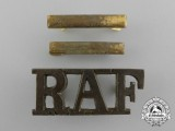 Three Scarce Royal Air Force (RAF) Insignias, circa 1918-1920